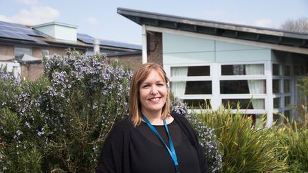 Gwen Harding, community nurse specialist at Weston Hospicecare.