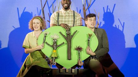 Stick Man will be at The Playhouse soon. Picture: Robin Savage