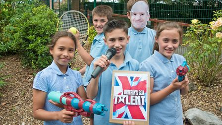 St Francis Primary School, Nailsea, year six end of term musical production. Picture: MARK ATHERT