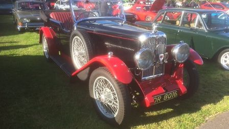 Visitors admired vintage cars at Redhills summer classic car and motorcycle gathering.Picture: Redhi