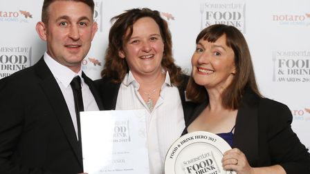 Somerset Life Food & Drink Hero 2017 sponsored by Notaro Care Homes - Bev and Sarah Milner Simmonds