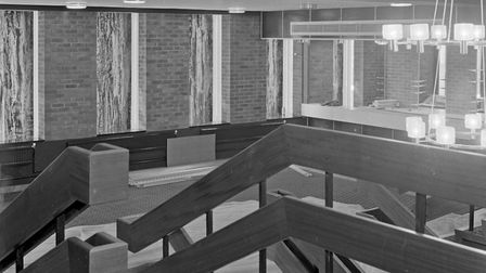 Preview pictures of the new Weston Playhouse interior. 30-06-1969Picture: WESTON MERCURY