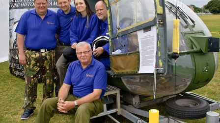 Weston Helicopter Museum team.
