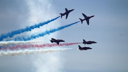 A few photos of the Red Arrows and other aircraft during the weekend