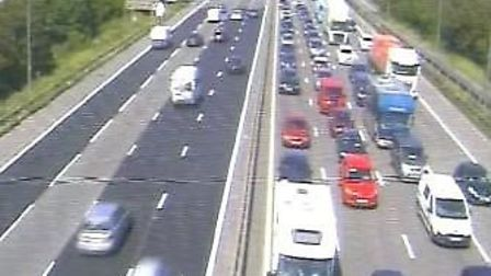 Traffic is growing over the Avonmouth Bridge. Picture: Traffic England