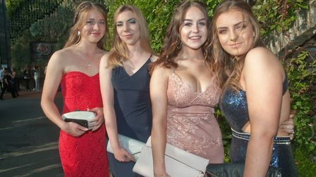 Backwell School Yr11 Prom at Cadbury House. Picture: MARK ATHERTON