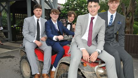 Kings of Wessex School prom. Picture: Jeremy Long.