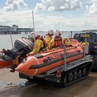 Weston's D-Class lifeboat which was used in the rescue.