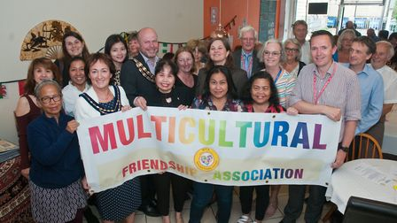 The multicultural friendship association's party for achieving charity status and to thank their vol