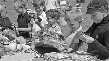 RAF Locking Scout Group summer fete at the Camp. Picture: WESTON MERCURY