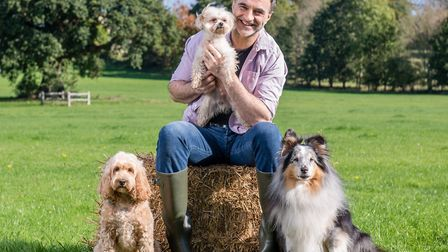 Noel Fitzpatrick will lead the Great Dog Walk on Saturday at Ashton Court to open the DogFest festiv