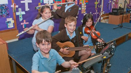 St Francis Primary School, Nailsea. Summer concert rehearsal. Picture: MARK ATHERTON