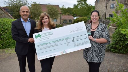 Children's hospice receives generous donation from hotel group