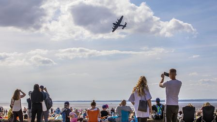 The Lancaster at the Weston Air Festival and Armed Forces Weekend. Picture: Weston Air Festival/Paul