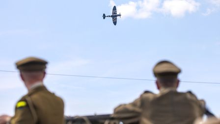 The Great War Team at the Weston Air Festival and Armed Forces Weekend. Picture: Weston Air Festival