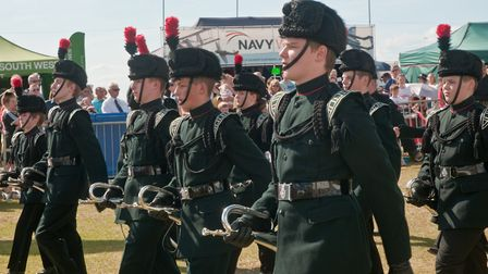 Weston Air Festival and Armed Forces Weekend. Somerset Cadet Battalion, Army Cadet Force – The Silve