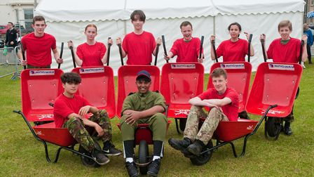 Weston Air Festival and Armed Forces Weekend. 290 (Weston) Squadron Air Training Corps – Red Barrows