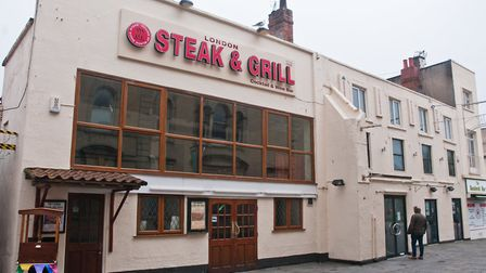 The London Inn pub and the steak and grill restaurant. Picture: MARK ATHERTON