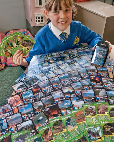 Corpus Christi Primary School pupil Aimee Begle, aged seven, who is going to compete at the UK Top T