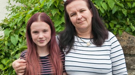 Ivanuska Milacik Sterbakova and her daughter Martina, who was hit by a car in September last year.