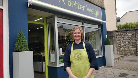 Laura Webster from A Better Weigh. Picture: Eleanor Young