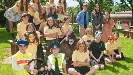 """Winscombe Youth Theatre dress rehersal for """"Our Day Out"""" by Willy Russell. Picture: MARK ATHERTO"""