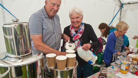 Wrington Churches Togethers family fun day in Redhill. Picture: MARK ATHERTON
