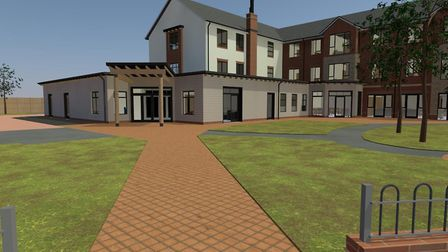 An artist's impression of Strawberry Gardens extra care facility planned for Yatton. Picture: Housin