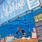 Gourmet Mac & Cheese at Weston's Street Food Warehouse Festival. Picture: MARK ATHERTON