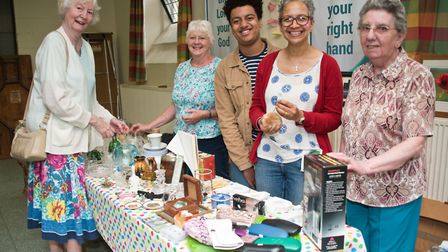Emmanuel Church Hall Summer fete, in Oxford Street. Picture: MARK ATHERTON