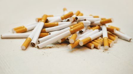 People are being urged to use a Government website to report illegal tobacco sales.Picture: milosrad