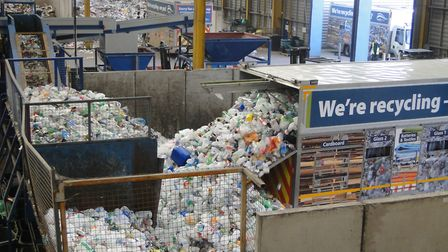 Recycling services have been delayed this week. Picture: Tony Gussin
