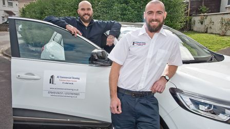 New business AC Commercial Cleaning launches in Worle. Picture: MARK ATHERTON
