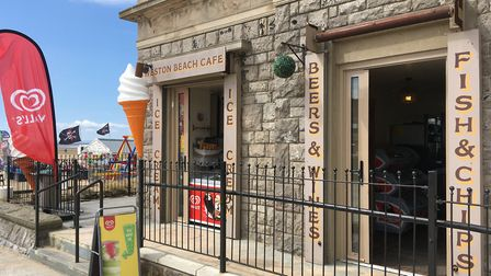 The assault took plaace outside Weston Beach Café. Picture: Henry Woodsford