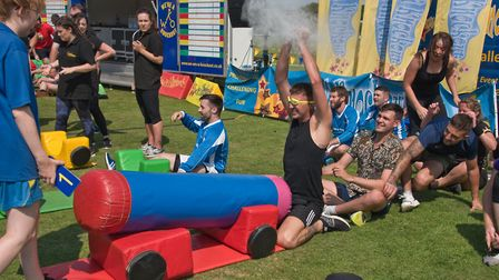 It's A Hospice Knockout. Picture: MARK ATHERTON
