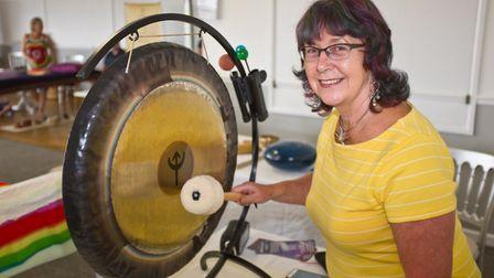Linda Joyce is offering magical Ocean Energy Sound Healing. Picture: MARK ATHERTON