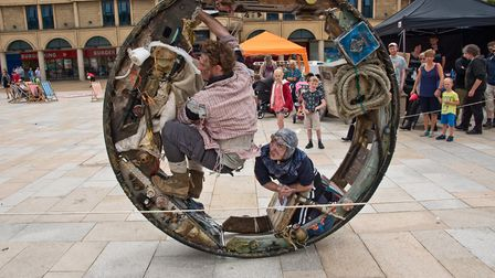 Theatre Orchard Whirligig event at the Italian Gardens. Picture: MARK ATHERTON