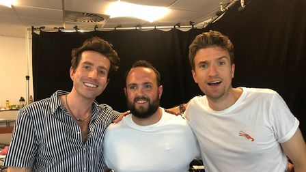 Nick Grimshaw (left) and Greg James (right) were found in Weston's Grand Pier. Picture: Grand Pier