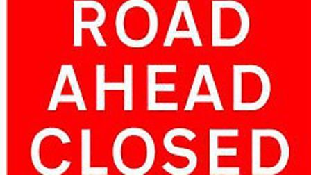 Road closure delayed