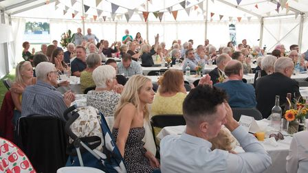 Guests at the Skidmore family celebration. Picture: MARK ATHERTON