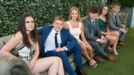 Cadbury House, Congresbury. Sports personality of the year nominees before the award ceremony. Pi