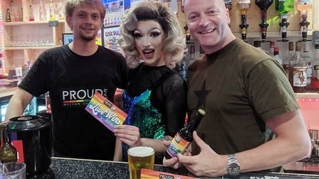 The new Love Wins beer will be available at Weston Pride.