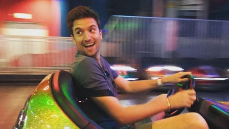 Greg James was found at Westons Grand Pier after Radio 1s Hide And Seek game on July 24.Picture: Wes