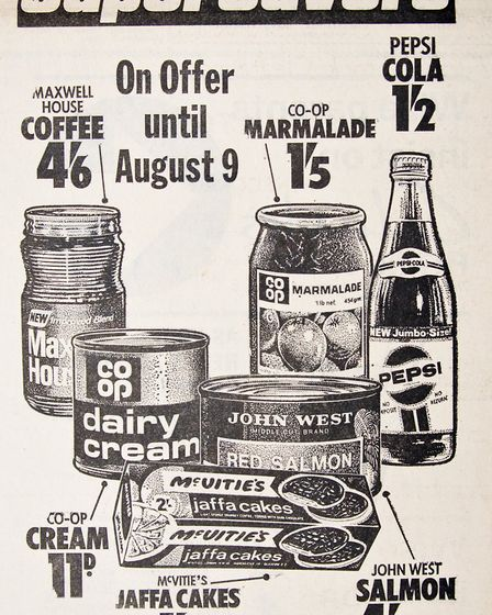 Ads 1st August 1969 Edition. Picture: WESTON MERCURY