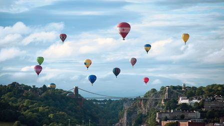 The Bristol International Balloon Fiesta attracts thousands of visitors every year.Picture: George B
