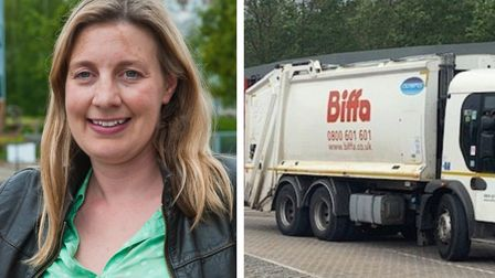 Cllr Bridget Petty said Biffa''s service has 'not been good enough'. Picture: Mark Atherton