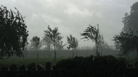 Rain is set to batter Weston on Friday, followed by strong winds on Saturday.