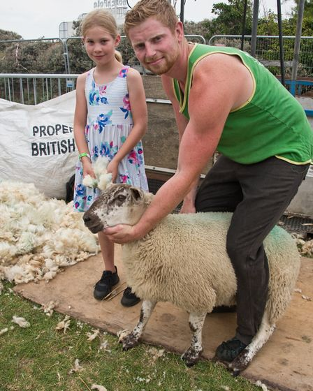 A dairy festival was held in Weston. Picture: MARK ATHERTON