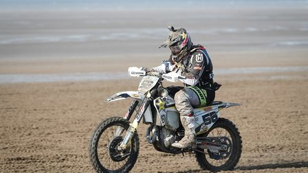 Billy Bolt will takle Weston Beach Race in October. Picture: RHL Activities