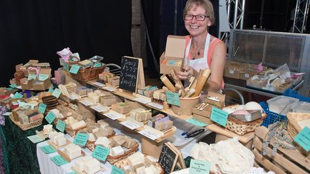 Debs Appleby, Soap and Pamper. Weston Vegan Fair. Picture: MARK ATHERTON